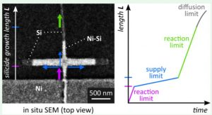 Lateral Extensions to Nanowires for Controlling Nickel Silicidation Kinetics: Improving Contact Uniformity of Nanoelectronic Devices